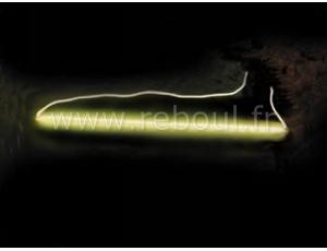 lampes d co tubes cathode froide velleman fly tube fluorescent cathode froide jaune. Black Bedroom Furniture Sets. Home Design Ideas
