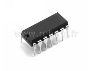 LF347N circuit intégré DIP-14