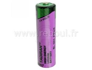 pile 3.6 v lithium