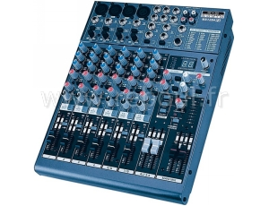 Sc ne et dj tables de mixage definitive audio mx1204fx - Table de mixage professionnelle studio ...