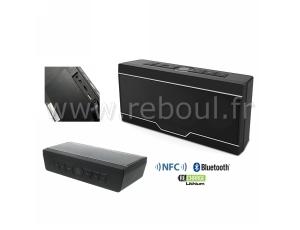 enceintes et hp sono portables europsonic bts810 n enceinte bluetooth noire puissance 2 x. Black Bedroom Furniture Sets. Home Design Ideas